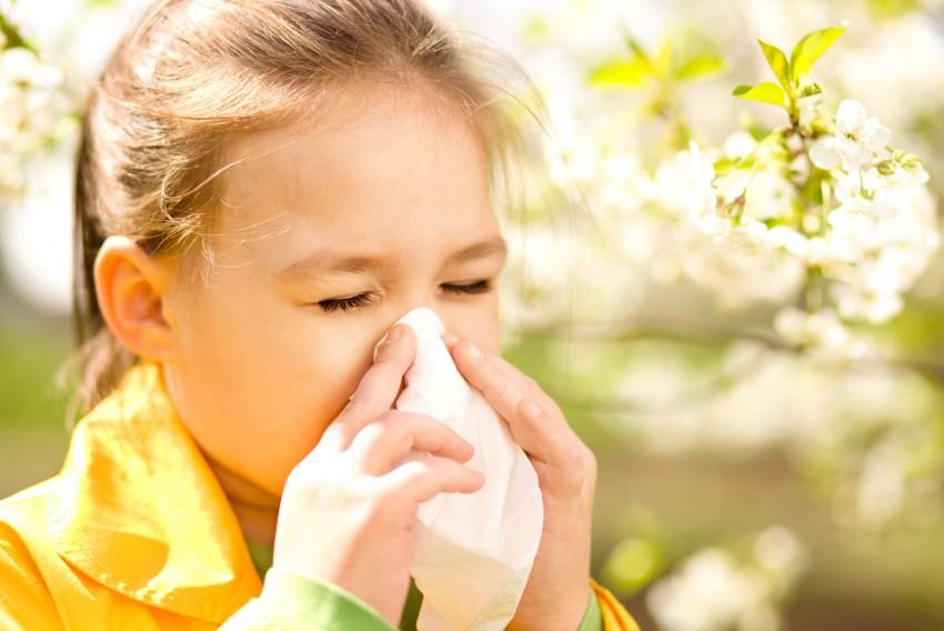 Проявление аллергии на коже у детей